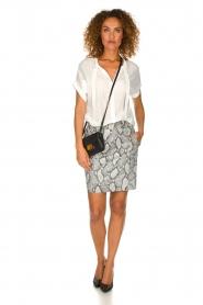 Dante 6 | Leather skirt Eshvi  | print  | Picture 3