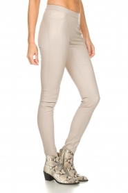 Dante 6 |  Leather leggings Campbell | natural  | Picture 4