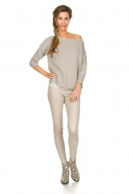 Dante 6 |  Leather leggings Campbell | natural  | Picture 3
