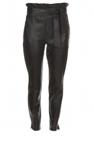 Dante 6 |  Leather trousers Duncan | black  | Picture 1