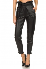 Dante 6 |  Leather trousers Duncan | black  | Picture 3