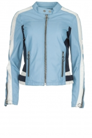 OAKWOOD | Leaher jacket Gigi | blue  | Picture 1