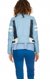 OAKWOOD | Leaher jacket Gigi | blue  | Picture 5