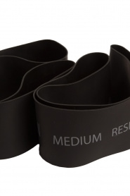 Casall |  Resistance bands medium | black  | Picture 3