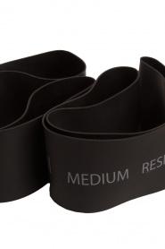 Casall | Resistance bands medium | zwart  | Afbeelding 3