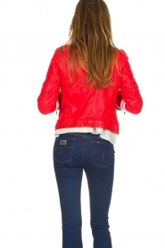 OAKWOOD | Leather jacket Joelle | red  | Picture 6