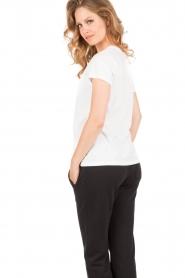 Juvia | T-Shirt Jenny | wit   | Afbeelding 5