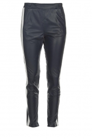 OAKWOOD | Leather pants Julie | blue  | Picture 1