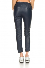 OAKWOOD | Leather pants Julie | blue  | Picture 5