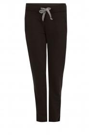 Juvia | Sweatpants Stripe | zwart  | Afbeelding 1