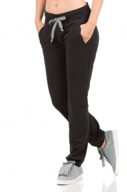 Juvia | Sweatpants Stripe | zwart  | Afbeelding 2