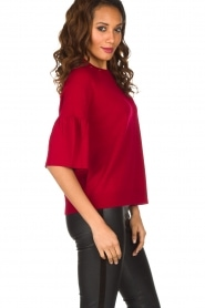 Hunkydory | Rode trui Molly Star | rood  | Afbeelding 5