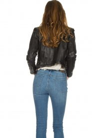 OAKWOOD | Leather jacket Manon | black  | Picture 6