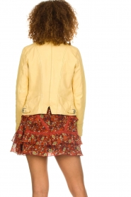 OAKWOOD | Leather jacket Roxanne | yellow  | Picture 6