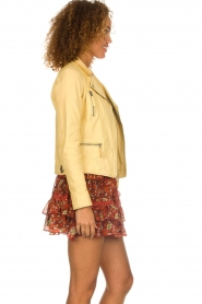 OAKWOOD | Leather jacket Roxanne | yellow  | Picture 5
