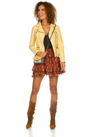 OAKWOOD | Leather jacket Roxanne | yellow  | Picture 3