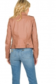 OAKWOOD | Leather jacket Olympe | nude  | Picture 5