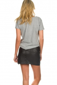 OAKWOOD |  Leather skirt with stars Meryl | black  | Picture 5
