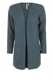 Knit-ted | Wollen vest Puck | blauw  | Afbeelding 1