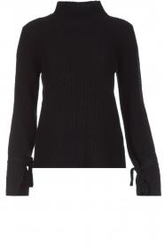 Hunkydory | Luxe trui Rachel | donkerblauw  | Afbeelding 1