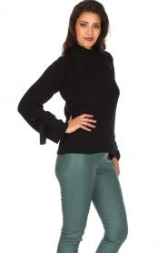 Hunkydory | Luxe trui Rachel | donkerblauw  | Afbeelding 6