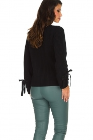 Hunkydory | Luxe trui Rachel | donkerblauw  | Afbeelding 7