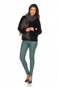 Hunkydory | Luxe trui Rachel | donkerblauw  | Afbeelding 3