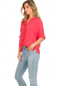 Aaiko |  Blouse Venda | coral red  | Picture 4