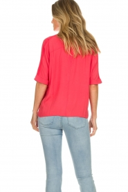 Aaiko |  Blouse Venda | coral red  | Picture 5