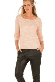 Knit-ted | Top Sjimmy | roze  | Afbeelding 2