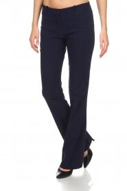 AnnaRita N |  Trousers Sharina | blue  | Picture 4