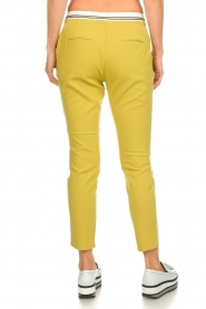 Aaiko |  Pants Parat | ochre yellow  | Picture 5