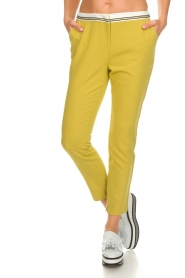Aaiko |  Pants Parat | ochre yellow  | Picture 3