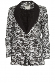 Aaiko | Blazer Zuzanna | black and white  | Picture 1