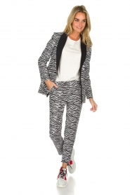 Aaiko | Blazer Zuzanna | black and white  | Picture 3