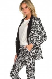 Aaiko | Blazer Zuzanna | black and white  | Picture 4