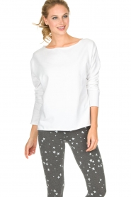 Juvia | Sweatshirt Sue | wit  | Afbeelding 2