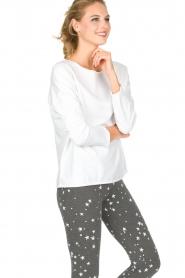 Juvia | Sweatshirt Sue | wit  | Afbeelding 4