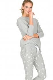 Juvia | Sweatshirt Sue | grijs  | Afbeelding 4
