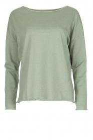Juvia | Sweatshirt Sue | groen  | Afbeelding 1