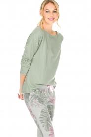 Juvia | Sweatshirt Sue | groen  | Afbeelding 2