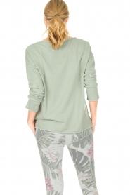 Juvia | Sweatshirt Sue | groen  | Afbeelding 6