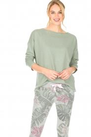 Juvia | Sweatshirt Sue | groen  | Afbeelding 4