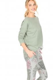 Juvia | Sweatshirt Sue | groen  | Afbeelding 5