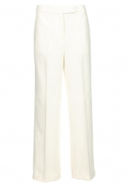 Aaiko |  Classic trousers Calida | white  | Picture 1