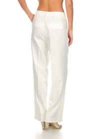 Aaiko |  Classic trousers Calida | white  | Picture 5