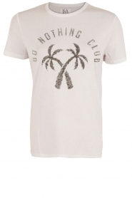 T-Shirt Do Nothing Club | wit