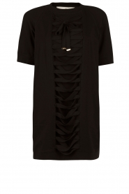 ELISABETTA FRANCHI |  Tunic dress Benissimo | black  | Picture 1