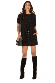 ELISABETTA FRANCHI |  Tunic dress Benissimo | black  | Picture 3