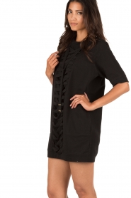 ELISABETTA FRANCHI |  Tunic dress Benissimo | black  | Picture 4